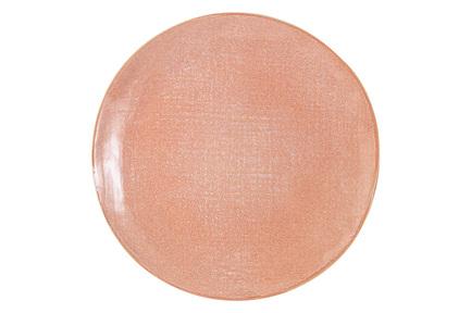 Тарелка обеденная Canvas Red, 27х2.5 см, розовая HS900050 Home & Style