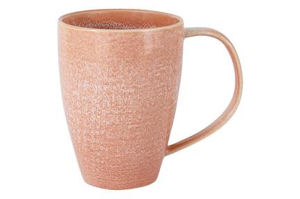 Кружка Canvas Red (380 мл), розовая HS917550 Home & Style