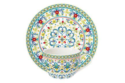 Чашка Средиземноморье (240 мл), с блюдцем EL-R0939_MEBL Easy Life (R2S) кружка средиземноморье 350 мл el r0941 mebl easy life r2s