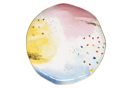 Тарелка обеденная Брызги красок, 26 см EL-R1583_SPLA Easy Life (R2S) майкл томас самый простой английский тренинговая тетрадь для элементарного английского языка