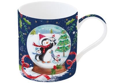 Кружка Новогодняя сказка Пингвины (350 мл), в подарочной упаковке EL-R1770_WL10 Easy Life (R2S) кружка ambiente 350 мл серая el r1213 ambg easy life r2s