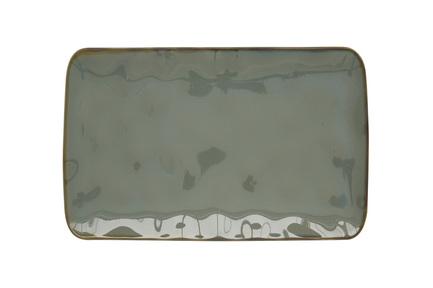 Тарелка прямоугольная Interiors, 20х13 см, серая EL-R2028_INTC Easy Life (R2S) тарелка обеденная interiors 26 см белая el r2010 intw easy life r2s