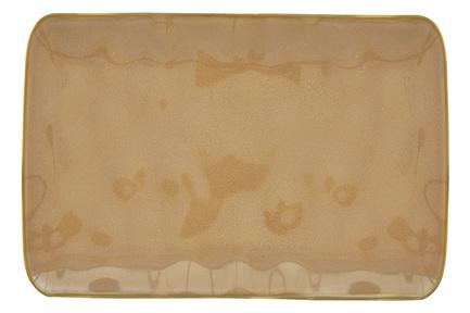 Тарелка прямоугольная большая Interiors, 27х19 см, коричневая EL-R2029_INTT Easy Life (R2S) тарелка обеденная interiors 26 см белая el r2010 intw easy life r2s