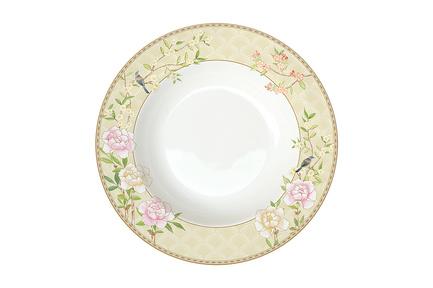 Тарелка суповая Дворцовый парк, 22.5 см, бежевая EL-R1360_PALF Easy Life (R2S) тарелка суповая капри 21 5 см el r0943 capb easy life r2s