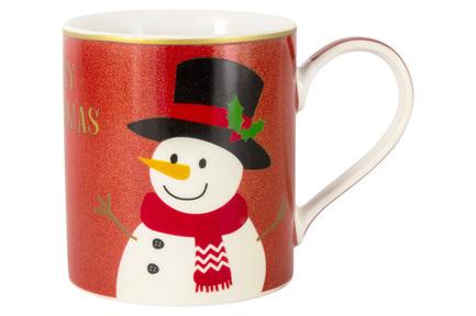 цена на Кружка Glitter&Colour Snowman (350 мл) EL-R0137_BU-GCC1 Easy Life (R2S)
