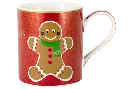 цена на Кружка Glitter&Colour Gingerbread (350 мл) EL-R0137_BU-GCC2 Easy Life (R2S)