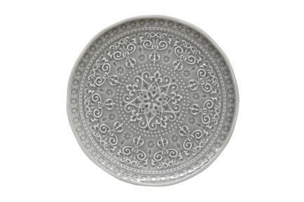 Тарелка закусочная Abitare, 19 см, темно-серая EL-R1864_ABDG Easy Life (R2S) тарелка закусочная парадайз 19 см el r1582 para easy life r2s