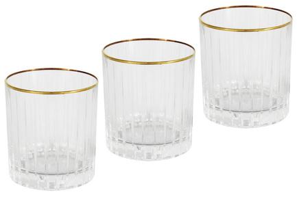 цена на Набор стаканов для виски Пиза золото (250 мл), 6 шт SM2109_GAL Same