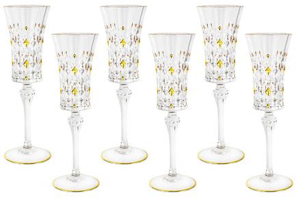Набор бокалов для шампанского Флоренция (150 мл), 6 шт SM3173_656 Same