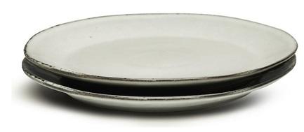 Набор тарелок для закуски Nature, серый, 2 шт 5018084 Sagaform