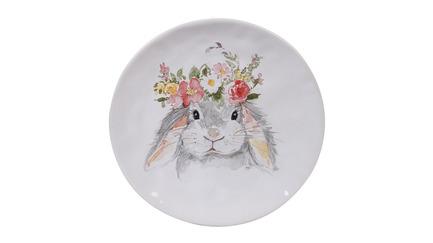 Тарелка закусочная Милый кролик-1, 21.5 см CER23231-1 Certified International Corp тарелка закусочная pasabahce family 19 5 см