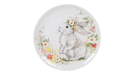 Тарелка обеденная Милый кролик, 28 см CER23230 Certified International Corp тарелка обеденная зимний сад радость 28 см cer28315 1 certified international corp