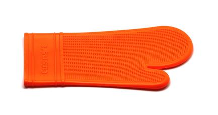 Прихватка-варежка, 35х17.3х2.5 см, оранжевая