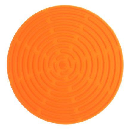 Подставка под горячее круглая, 15 см, оранжевая SC-MT-010-O Atlantis подставка под горячее rosenberg 16 5 см