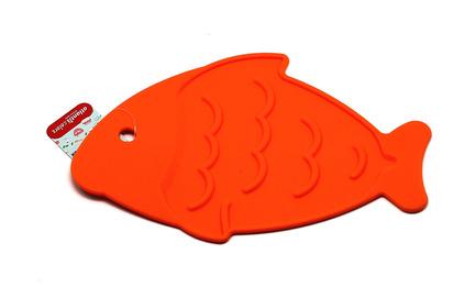 Подставка под горячее Рыба, 26х17 см, оранжевая SC-MT-013-O Atlantis подставка под горячее rosenberg 16 5 см