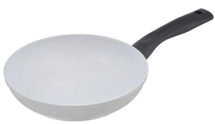 Сковорода Magma, 20 см, белая RC-20W Atlantis сковорода bekker bk 3799 4 4л диаметр 30см высота 8 0см толщина стенки 2 0мм дна 4 0мм