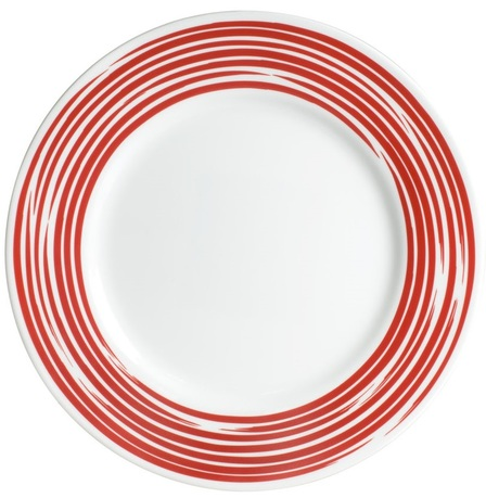 Тарелка обеденная Brushed Red, 27 см 1118387 Corelle