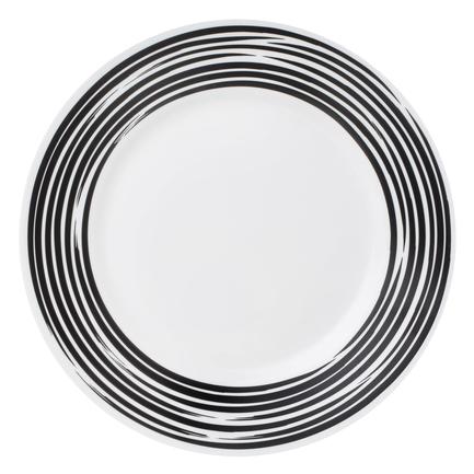 цена на Тарелка обеденная Brushed Black, 27 см 1118390 Corelle