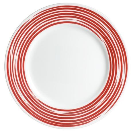 цена на Тарелка закусочная Brushed Red, 22 см 1118421 Corelle