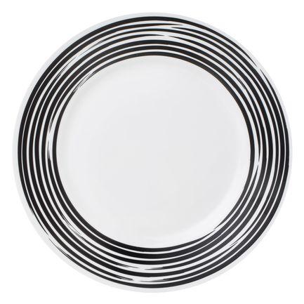 цена на Тарелка закусочная Brushed Black, 22 см 1118425 Corelle