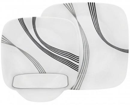 Набор посуды Urban Arc, 12 пр 1118164 Corelle набор посуды тигрес ромашка на 4 персоны большой 39091