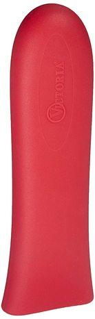 Накладка на ручку силиконовая, 17.8х5.1х2.5 см, красная VI5552 Victoria Cast Iron накладка на ручку силиконовая оранжевая ashh61 lodge
