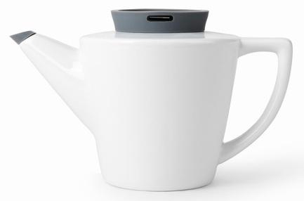 Чайник заварочный с ситечком Infusion (1 л), серый V24033 Viva Scandinavia чайник orion чэ с02 1 7л 2200 вт серый прозрачный 1 7 л пластик стекло