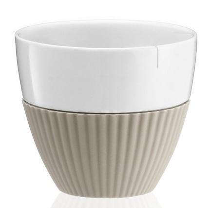 цена на Чайный стакан Anytime (300 мл), 9.4х8.5 см, 2 шт., хаки V25421 Viva Scandinavia