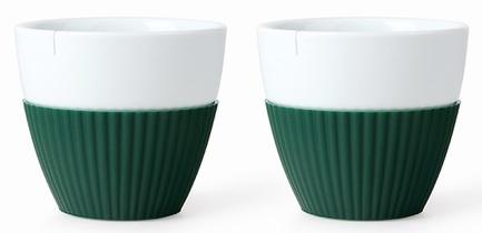 Чайный стакан Anytime (300 мл), 9.4х8.5 см, 2 шт., зеленый V25465 Viva Scandinavia