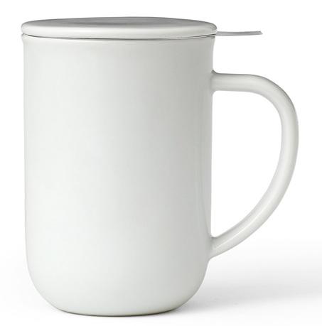 Чайная кружка с ситечком Minima (500 мл), 14.2 см, белая V77502 Viva Scandinavia