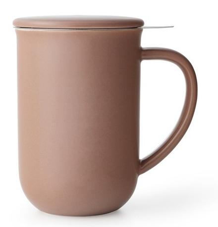 Чайная кружка с ситечком Minima (500 мл), 14.2 см, терракот V77562 Viva Scandinavia
