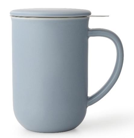 Чайная кружка с ситечком Minima (500 мл), 14.2 см, голубая V77563 Viva Scandinavia