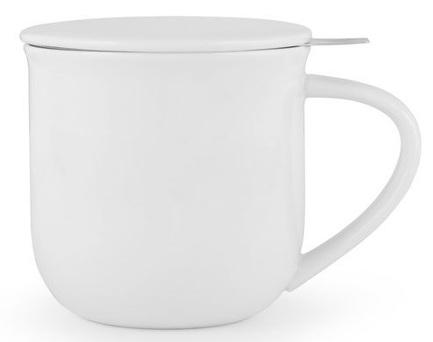 Чайная кружка с ситечком Minima (380 мл), 9.5х9.3 см, белая V81402 Viva Scandinavia