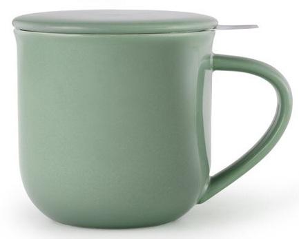Чайная кружка с ситечком Minima (380 мл), 9.5х9.3 см, зеленая V81446 Viva Scandinavia