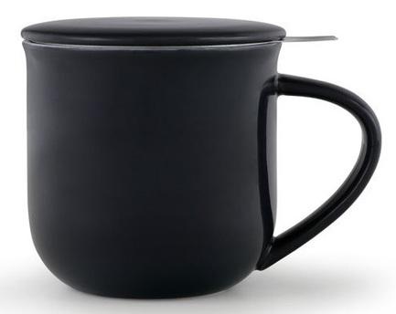 Чайная кружка с ситечком Minima (380 мл), 9.5х9.3 см, синяя V81445 Viva Scandinavia