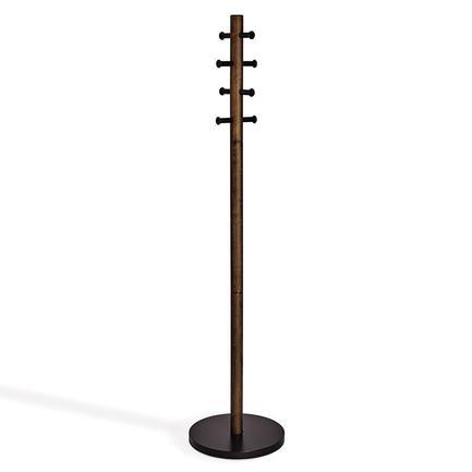 Вешалка напольная Pillar, 167 см, черная 1005871-048 Umbra вешалка напольная homemaster цвет черный серебристый 81 х 40 см 94 160 см