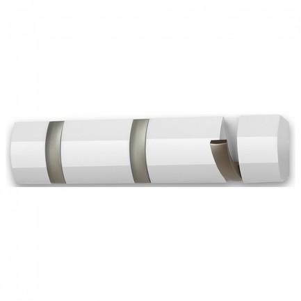 Вешалка настенная Flip, 3 крючка, 30.5 см, белая 318853-660 Umbra
