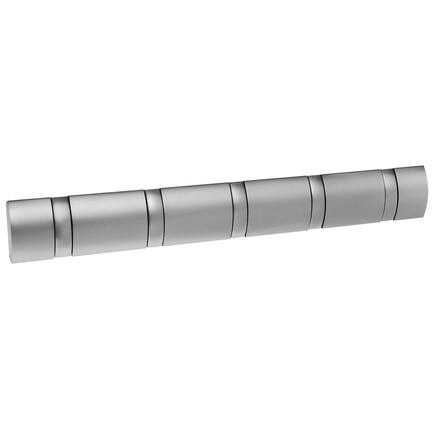 Вешалка настенная Flip, 5 крючков, 50.8 см, никель 318852-410 Umbra вешалка umbra настенная flip 8 крючков эспрессо