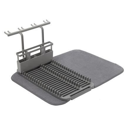 цена Коврик для сушки посуды Udry, 61х45.7х27.3 см, темно-серый 1011484-149 Umbra онлайн в 2017 году