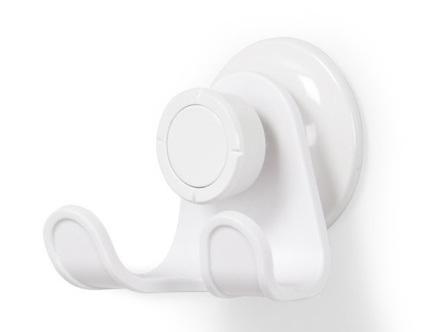 Крючок для душа настенный Flex, белый 1004434-660 Umbra органайзер для душа flex single белый