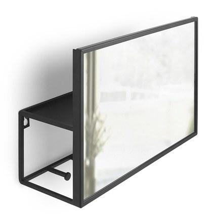 Органайзер Cubiko, 20.3х32 см, черный 1012828-040 Umbra цена 2017