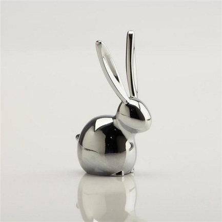 Фото - Подставка для колец Zoola Кролик, хром 299213-158 Umbra подставка для колец umbra anigram олень медь