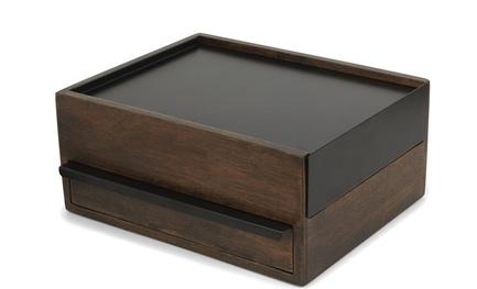 Шкатулка для украшений Stowit, 26х20.7х12.2 см, черный 290245-048 Umbra umbra шкатулка для украшений toto чёрная орех