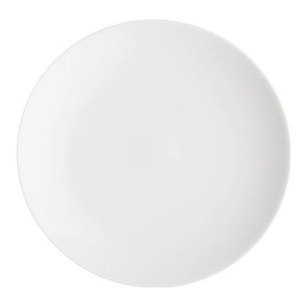 Тарелка закусочная углубленная Акцент, 21 см
