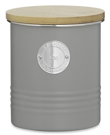 Емкость для хранения чая Living (1 л), 12х14 см, серая 1400.731V Typhoon емкость для хранения чая living 1 л зеленая 1400 965v typhoon