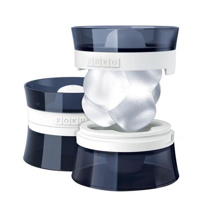 Набор форм для льда Jack, 9.4х9.4х7.2 см, 2 шт, черный ZK152 Zoku набор форм для льда zoku mixology