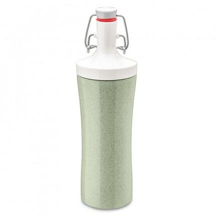 Фото - Бутылка для воды Plopp To Go Organic (425 мл), зеленая 3796314 Koziol бутылка для воды koziol plopp to go organic 0 42 пластик синий