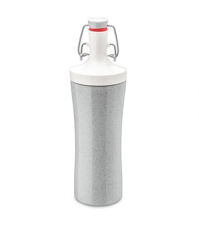 Фото - Бутылка для воды Plopp To Go Organic (425 мл), серая 3796316 Koziol бутылка для воды koziol plopp to go organic 0 42 пластик синий