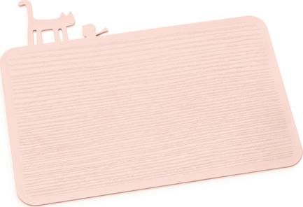 Доска разделочная Pip, 25.1x30.1 см, розовая 3639659 Koziol