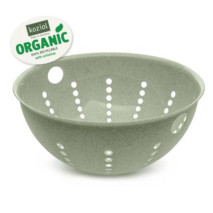 Дуршлаг Palsby L Organic (5л), зеленый